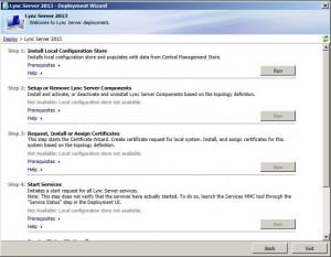 Lync 2013 Server Deployment