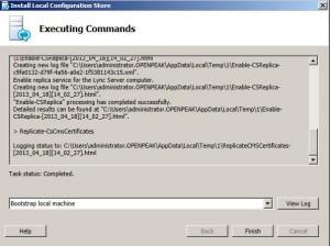 Lync 2013 Server install Step 1